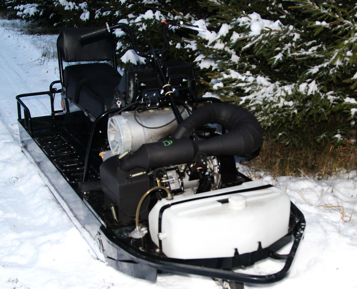 Глушитель на снегоход тайга
